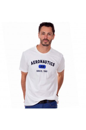 camiseta masculina hiatto bordado aeronautics manga curta off white 02m0207 039 frente 2